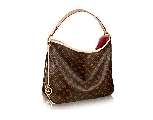 Authentic LV Monogram Delightful MM Handbag Article: M50156 Made in France