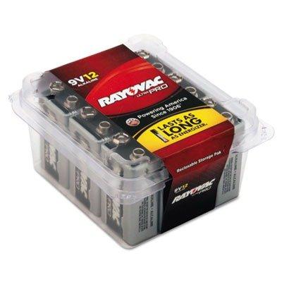 RAYAL9V12 - Ray-o-vac Ultra Pro Alkaline Batteries