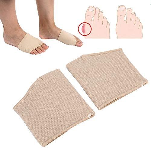 Teenseparators hallux correctorontwerp met gespleten teen en grote teennaden met goede elasticiteit om te dragen Stabieler comfortabel om te lopenL