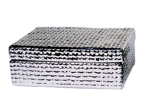 Caixa Quadrada Silver Sarquis Samara Prata