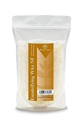 Emulsifying Wax NF, NON-GMO Premium Quality Polysorbate 60/ Polawax 8 oz. from Plant Guru