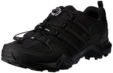 adidas, Terrex Swift R2 Hikings Shoes, Men's Shoes, Black/Black/Black, 6.5 US