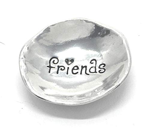- Friends Pewter Trinket Dish