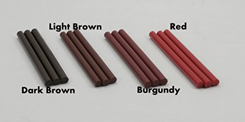 Red Colored Glue Sticks 7/16'' X 4'' 5 lbs by GlueSticksDirect.com (Image #4)