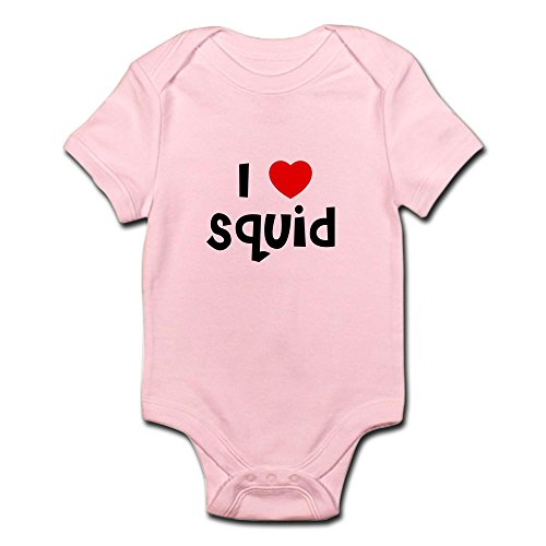 CafePress - I Squid Infant Creeper - Cute Infant Bodysuit Baby Romper