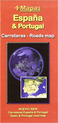 Mapa carreteras España & Portugal (desplegable): Amazon.es: Aa.Vv.: Libros