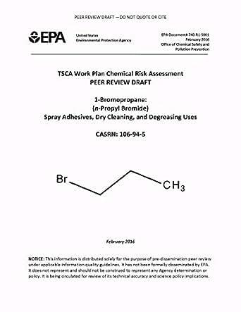 TSCA Work Plan Chemical Risk Assessment Peer Review Draft 1