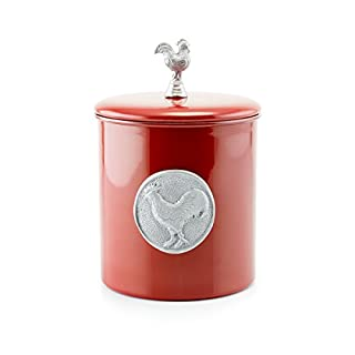Old Dutch Rooster Cookie Jar, 4 quart, Red (B012BFCFGS) | Amazon price tracker / tracking, Amazon price history charts, Amazon price watches, Amazon price drop alerts