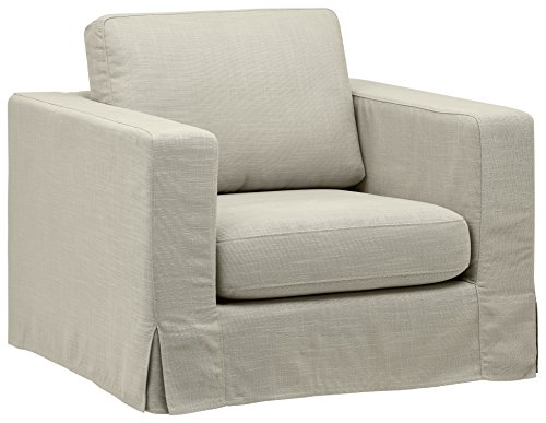 (Stone & Beam Bryant Modern Slipcover Accent Chair, 42