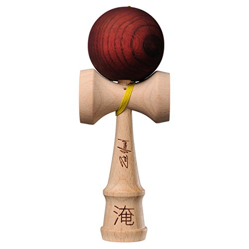 Kendama USA - Pro Model - Zack Yourd - Brown - Extra String - Strengthens Hand and Eye Coordination - Lightweight by Kendama USA (Image #7)