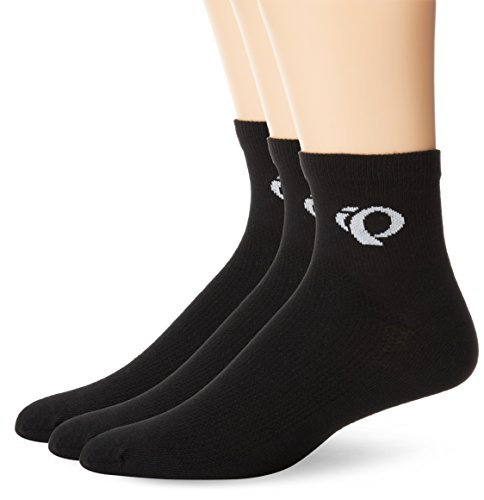 Pearl Izumi Cycling Socks - Pearl Izumi Men's Attack Socks (3-Pack), Black, Medium