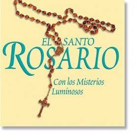 El Santo Rosario: Con los Misterios Luminosos CD by 1home (Image #1)