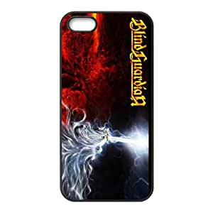 iPhone 5 5s Cell Phone Case Covers Black Blind Guardian