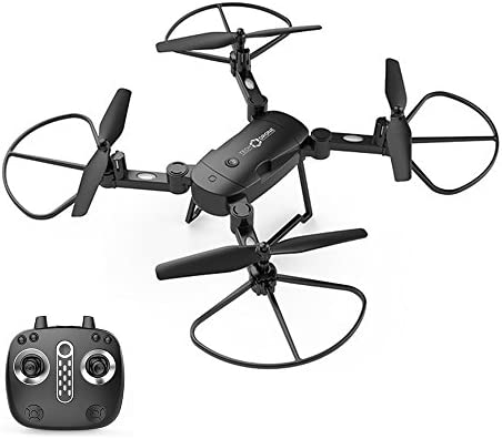 Fenghong Quadcopter Plegable, Lh-X24Wf30 UAV Drone sin cámara 2.4 ...