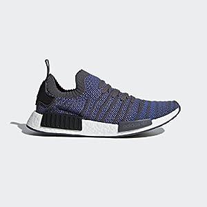 adidas Originals Men's NMD_R1 STLT PK, hi-res Blue/Black/Coral, 12 M US
