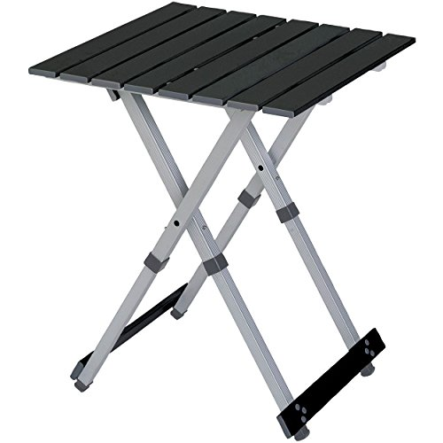 GCI Outdoor Compact Camp 20 Outdoor Folding Table (Down With Small Sides Table Fold)
