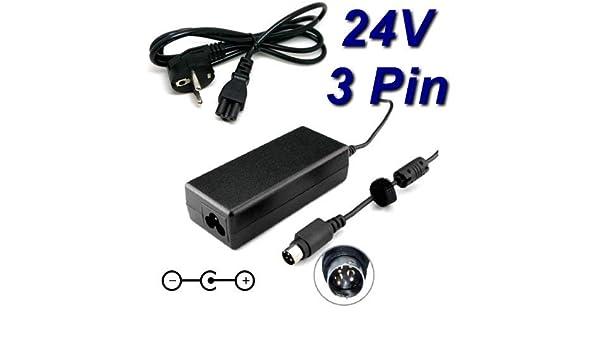TopChargeur - Adaptador de alimentación y Cargador de 24 V ...