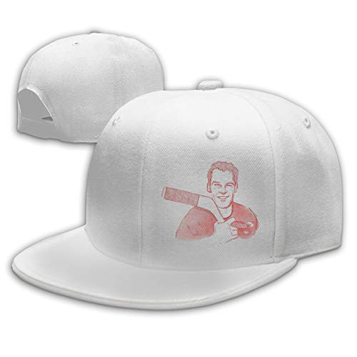Men Women Gordie-Howe-an-Art Baseball Cap Classic Adjustable Plain Hat White