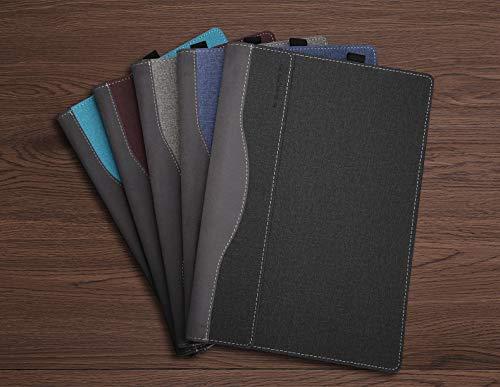 Laptop Cover for Lenovo Yoga C930/920/910/yoga 7 pro/Yoga 6 Pro/Yoga 5 Pro 13.9 Inch Folio Tablet Case Grey by Lakikey (Image #6)