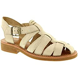 Cat by Caterpillar Women's Anders Sandal Cloth Blanc 9.5 M, EU 40.5