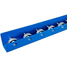 Flow Rack Conveyor Rails | Flow Rail 5′ Long Skate Wheel Conveyor | T4 Style