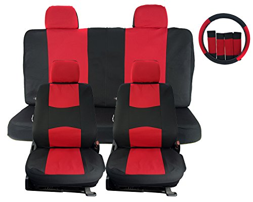 Compare Price To Comfortable Red Suv Seat Covers