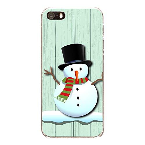 """Disagu Design Case Coque pour Apple iPhone SE Housse etui coque pochette """"X-Mas Snowman"""""""