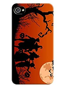 2014 Hot Sale fashionable TPU iphone protective Hard Cover Case for iphone 4/4s New Style Halloween Kimberly Kurzendoerfer
