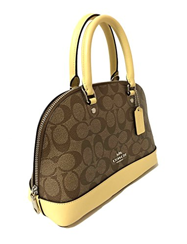 Purse Vanilla Mini Inclined Satchel Sv Coach Shoulder Kahki Handbag Sierra Shoulder Women��s w8n1Pqa