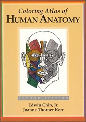 Amazon.com: Coloring Atlas of Human Anatomy (9780030018060): Edwin ...