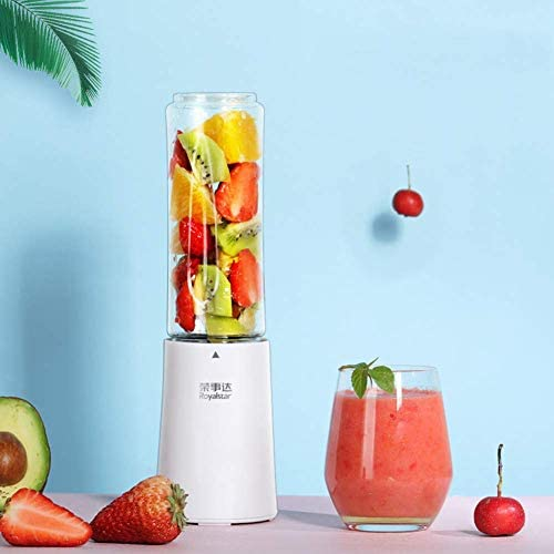 zyl Smoothie Maker Mini mixeur Portable pour jus de Fruits et Smoothie Magic Bullet Blender Mini Cup USB Rechargeable (Rose)