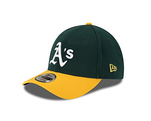 MLB Oakland Athletics Junior Team Classic Home 39Thirty Stretch Fit Cap, Green, Child/Youth