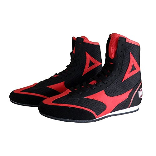 Amber Fight Gear TechMaxxe v1.0 Half Height Boxing Shoes, Size 9