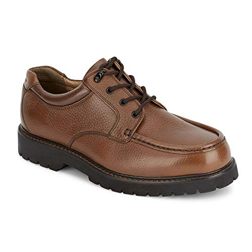 Dockers Men's Glacier Moc Toe Oxford,Dark Tan,12 M US