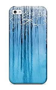 Snap-on Case Designed For Iphone 5c- Ios Parallax8