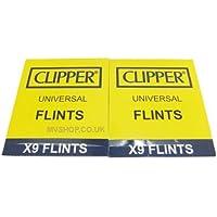18 X Clipper Lighter Flints, Will Work In ALL Flint Lighters Including Zippo Lighters