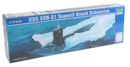 Trumpeter 1 144 (Trumpeter 1/144 USN Seawold SSN21 Attack Submarine Model)