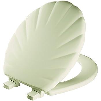 Amazon Com Mayfair Sculptured Shell Toilet Seat Will