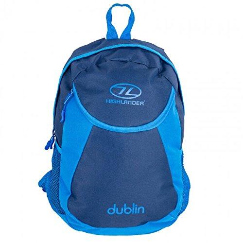 Highlander–Zaino Dublino zaino zaino Workbag, Borsa, borsa, 15litri Royal Blue