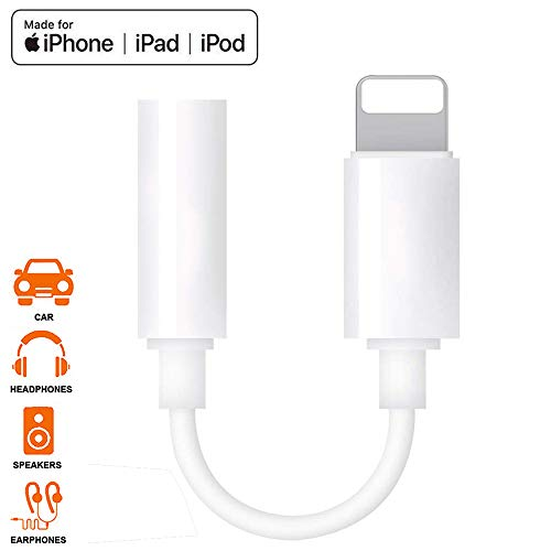 for iPhone Headphone Jack Adapte...