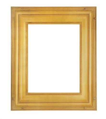 ArtToFrames 11x14 inch Hand Applied Gold Leaf Finish 3.25 inch Picture Frame, F691114