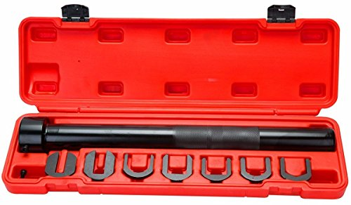 WIN.MAX Inner Tie Rod Tool Set Wrench Remover Removal Crowsfoot 7 adapters + ()