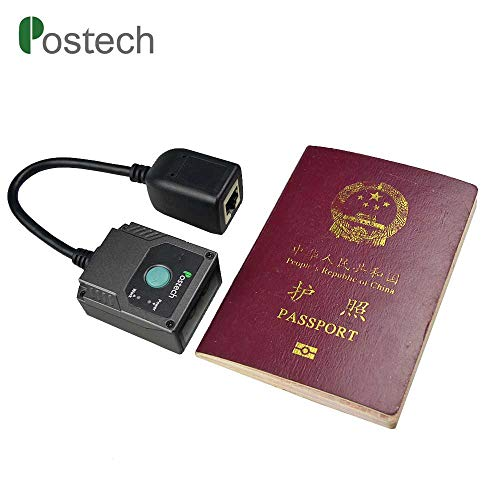 Mrz Code Reader Ms430 Passport, Fixed Mount with Ir/Light & AEC   Ocr 2D Qr  Barcode Scanner USB Rs232 for Duty-Free Shop & Travel Agent