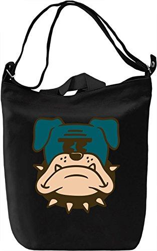Angry dog Borsa Giornaliera Canvas Canvas Day Bag| 100% Premium Cotton Canvas| DTG Printing|
