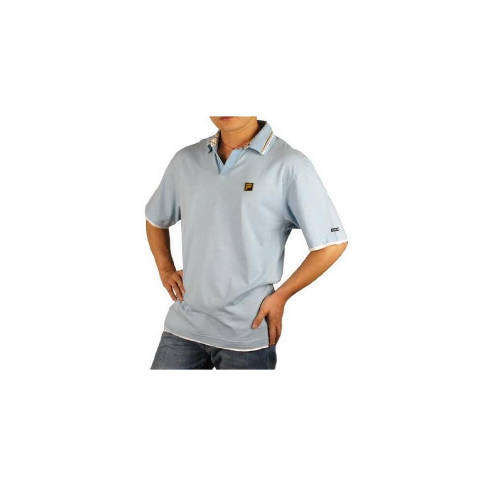 Mens Fila Italia Jersey Polo Shirt (Size M )