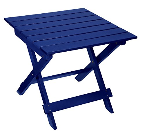 Living Accents Ip309-004b Adirondack Ottoman, Blue