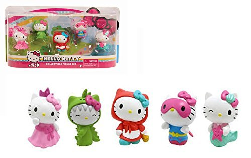 Hello Kitty Collectible Figure Set 5 Pack - The Hello Kitty Collectible Figure Set is a True Collector's (Hello Kitty Collectables)