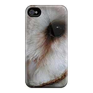 JeffMclaren Perfect Tpu Case For Iphone 4/4s/ Anti-scratch Protector Case (animals Owls)