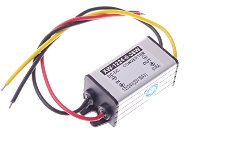 SMAKN® DC-DC 12V to 6V 6A 36W Buck Power Converter / Step Down Power Supply Waterproof