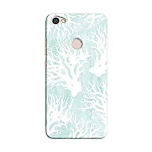 Cover It Up - Blue White Nature Print Redmi Y1 Hard Case